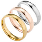 New Couple Jewelry Rings Wedding Engagement Lovers Stainless Steel Rings Fashion