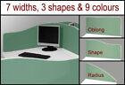 Office Desk Divider Partition Screen Panel H300mm x 7 Widths- Fast & Free £45.99
