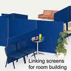 Office Divider Partition Screen Linking Panel - 3 Heights 7 Widths  9 Colours