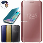 For OnePlus 3/3T Luxury Mirror Case Clear View Ultra Slim Flip Cover
