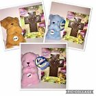 "Plush Prayer 6"" Bear Now I Lay Me Down To Sleep with Milk Chocolate Cross"