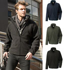 Mens Three Layer Waterproof Windproof Breathable Soft Feel Zip Fleece Jacket