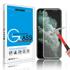 For Apple iPhone X /10 Full Coverage Tempered Glass Screen Protector Cover Film