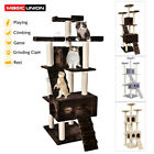"""72""""&20"""" Cat Tree House Furniture Stay Condo Pet Play Scratching Scratch Tower"""