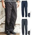Trespass Qikpac Packaway Waterproof Breathable Over trouser - Elasticated Waist