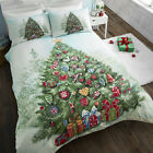 """CHRISTMAS TREE"" CHRISTMAS QUILT/DUVET COVER SETS,BEDDING SETS,BED LINEN."