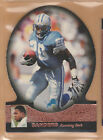 1993 to 2008 Barry Sanders Cards Lions - Topps Chrome SP Authentic Ultra Leaf +