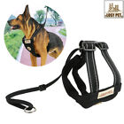 dog harnesses for pulling - No Pull Adjustable Dog Vest Harness &Leash Collar Set for Small Medium Large Dog