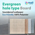 Evergreen hole type Board Soundproof wallpaper Insulation panel Sound absorption