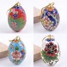 65mm Chinese cloisonne egg pendant 2.6""