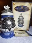 AB Anheuser Busch Collectors Club 10th Anniversary Charter Member Stein CB32C