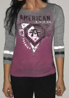 AMERICAN FIGHTER Womens T-Shirt WINGATE Athletic REFLECTIVE Biker Gym UFC $50