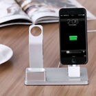 Aluminum Alloy Charging Station Dock Bracket Holder For iWatch iPhone Airpods BT