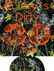camo dirty 30 Birthday Koozie no minimum 30th can coolers quick ship 127259005