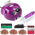 Pink Professional Nail Drill Electric Acrylic Finger Toe Manicure File Treatment