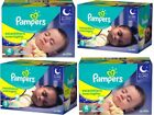 Pampers Swaddlers Overnights Baby Diapers Size 3 4 5 6 CHEAP!!  NO TAX