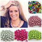 10 20MM 3D ILLUSION MIRACLE ROUND ACRYLIC BEADS FOR JEWELLERY MAKING - UK SELLER