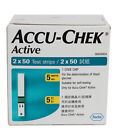 ACCU- CHEK ACTIVE TEST STRIPS MULTIPLE QUANTITY FRESH STOCK- (FREE SHIPPING)
