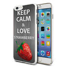 Love Strawberry Design Shockproof Hard Case Cover For Mobiles