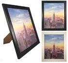 Weyli 4x6, 5x7, 8x10 Contemporary Wood Picture Photo Frame, 1 inch Wide Border