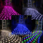 320 LED 4.5M x 1.6M Net Fairy Lights Mesh Lighting Christmas Wedding Party