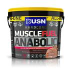 USN Muscle Fuel Anabolic 4kg 5.32kg All-In-One Muscle Mass Lean Muscle Builder