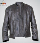Harrison Ford Star Wars The Force Awakens Men's Han Solo Leather Jacket $124.99 AUD
