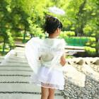 3Pcs Feather Angel Fairy Wings Wand Halo Set Dress Stage Show Costume Kids Adult