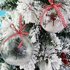 12 Ball Christmas Tree Pendant Decoration Handmade Clear Transparent Glass Ball $0.79 USD on eBay