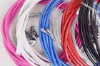 2M Bike Outer Gear Cable & Ferrules. Jagwire LEX Housing Black Red Blue White