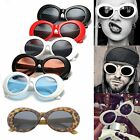Clout Goggles Unisex Sunglasses Rapper Kurt Cobain Oval Shades Grunge Glasses