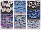 10pcs 20mm Charms Shell Shape Faceted Crystal Glass Findings Loose Spacer Beads