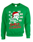 NEW Adult Sweatshirt Christmas Joker Smile Its Christmas Ugly Holiday