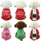 Christmas Pet Puppy Small Dog Cat Clothes Dress Vest T Shirt Apparel Clothes