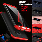 360° Full Cover Slim Hybrid Shockproof Case F Samsung Galaxy Note 8 S8+ S7 Edge