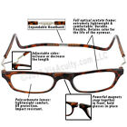 MAGNETIC CliC XXL Snap-closed Hang-from-neck Readers   Tortoise   1.25 to 3.50
