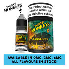 Twelve Monkeys - Mangabeys E Liquid - 3 X 10ml - 0mg/3mg/6mg - All Flavours