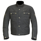 Merlin Heritage Sandon Wax Jacket Black Waterproof