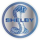 Cobra Shelby Ford Mustang GT Racing Blue Vinyl Sticker Decal  for sale