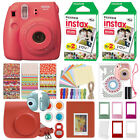 Fuji Instax Mini 8 Fujifilm Instant Camera All Colors + 40 Film Deluxe Bundle <br/> ATTRACTIVE ACCESSORY KIT! Case - Frames - Album + More!