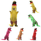 Adult Inflatable Dinosaur Halloween Costume Fancy Dress Outfit with Blower