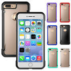 Hybrid TPU Bumper Shockproof Matte Clear Hard Case Cover For iPhone 7 / 7 Plus