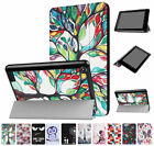 Folio Leather Magnetic Smart Stand Case Cover For 2017 Amazon Kindle Fire HD 10