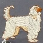 Border Collie Blk Sm Dog Embroider Many Items Quilt Sewing Carols Crate Cover