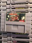 Super Nintendo Video Games Clean & Tested Consoles Zelda Donkey Kong Mario TMNT