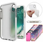 Soft Rubberized TPU Hybrid Clear Matte Back Case Cover for Apple iPhone X 10