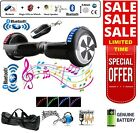 "6.5"" 2 WHEELS SELF BALANCING SCOOTER BALANCE BOARD BLUETOOTH +LED+REMOTE UK _"