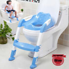 Training Toilet Potty Trainer Seat Chair Toddler With Ladder Step Up Stool Kids