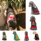 Christmas Theme Pet Clothes Dog Cat Knitted Sweater Dog Supplies Clothing Shoes