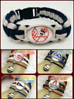 Baseball MLB Glass Cabochon Infinity Handmade Bracelet on Ebay